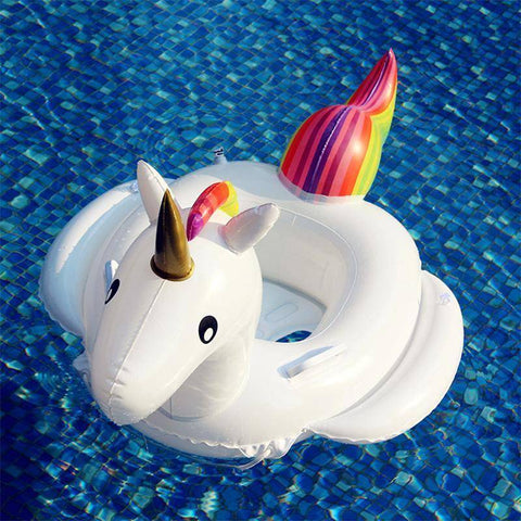Pool Floats - Baby's Unicorn Inflatable Pool Float