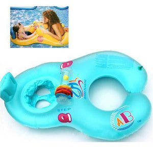 Mother & Baby Inflatable Pool Float
