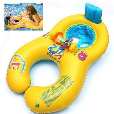 Pool Floats - Mother & Baby Inflatable Pool Float