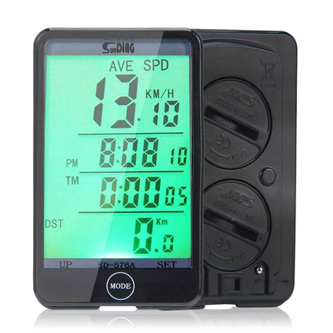 Sporting Accessories - LCD Backlit Bicycle Speedometer