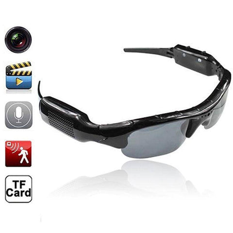 Image of Technology - D21 Hidden Camera Spy Sunglasses