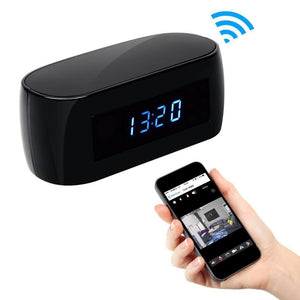 Technology - Hidden Camera Spy Minimal Alarm Clock