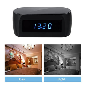 Hidden Camera Spy Minimal Alarm Clock