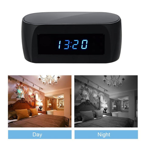 Image of Technology - Hidden Camera Spy Minimal Alarm Clock