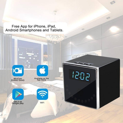 Technology - Hidden Camera Spy T18 Alarm Clock