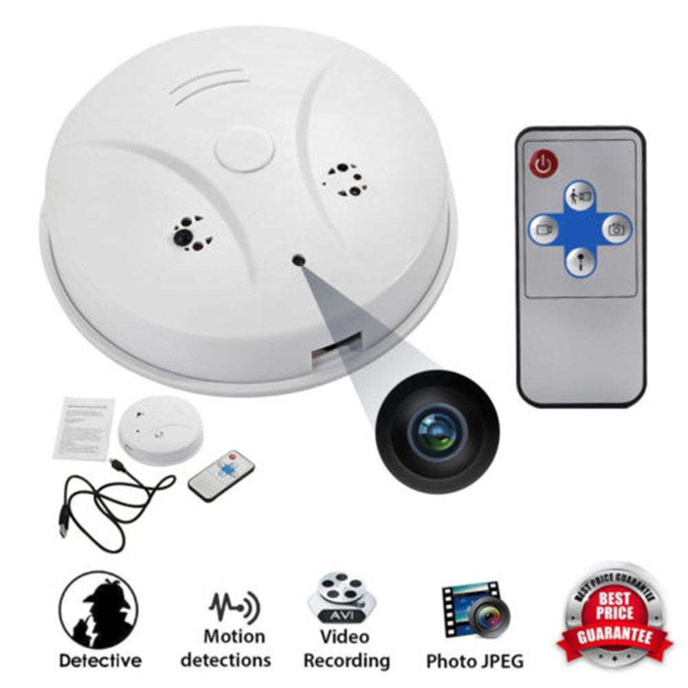 Technology - WiFi Hidden Camera Smoke Detector