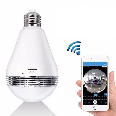 Image of Technology - YSS Hidden Camera Spy Screw-in Bulb