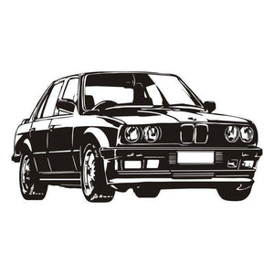 Classic BMW Wall Sticker Decal