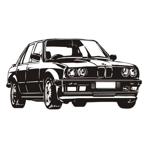 Wall Stickers - Classic BMW Wall Sticker Decal