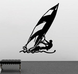 Wall Stickers - Windsurfing Wall Sticker Decal