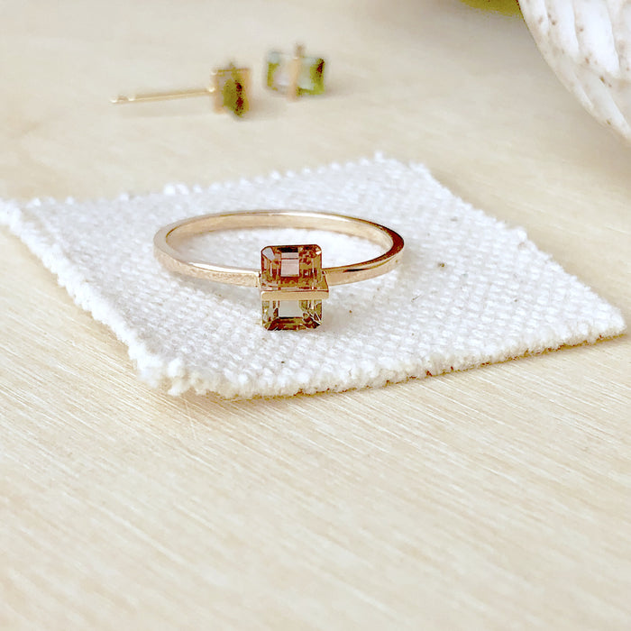 Januka Bi-Color Tourmaline Ring