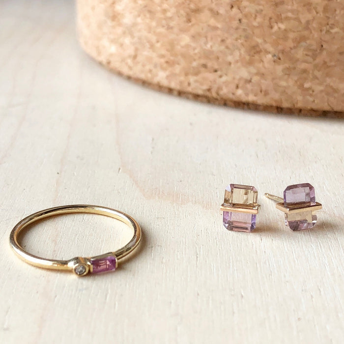 Januka Ametrine Earrings