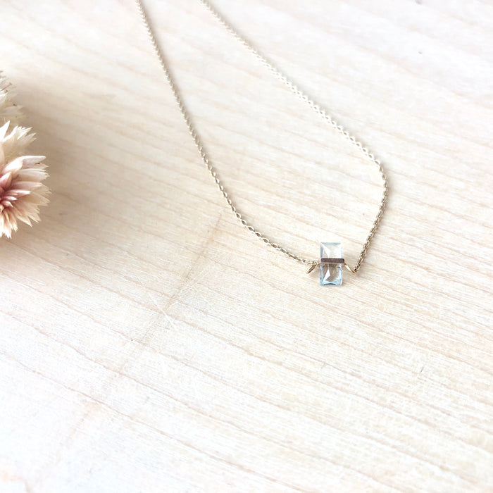 Januka Aquamarine Necklace
