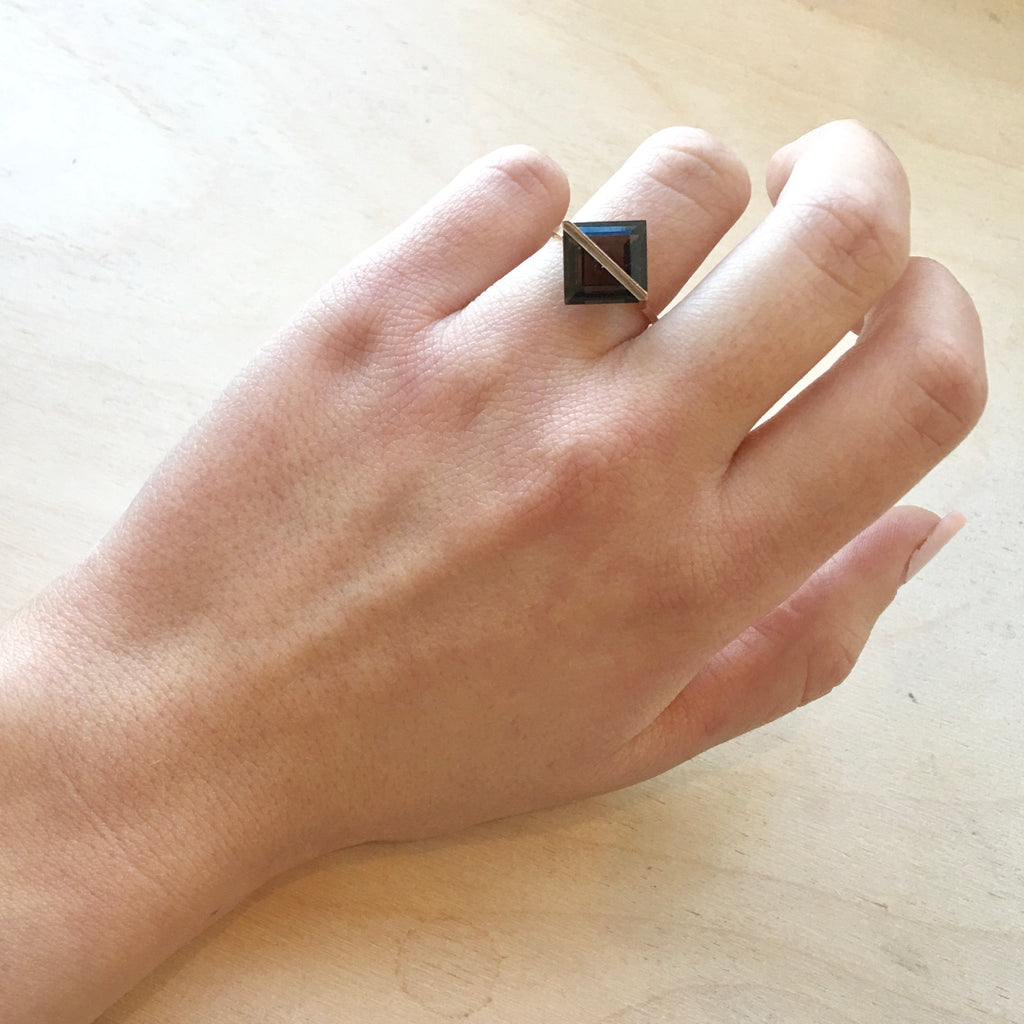Januka Smoky Quartz Ring