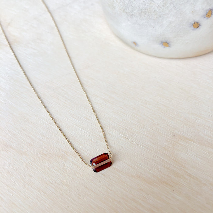Januka Garnet Necklace