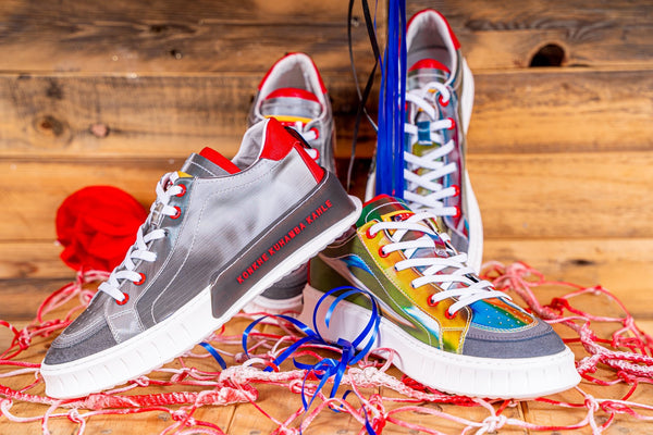 Konkhe kuhamba kahle High-end Sneakers (Raibow Nation Collection)
