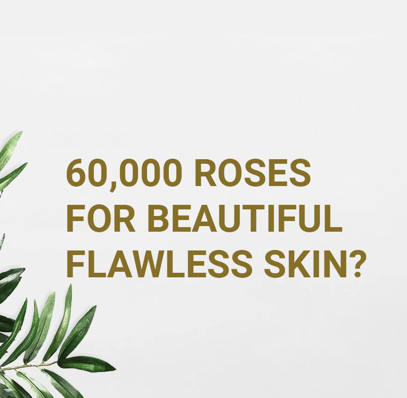 60,000 Roses For Beautiful Flawless Skin?