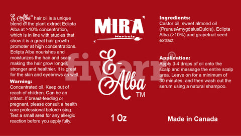 E-Alba™ Hair Oil