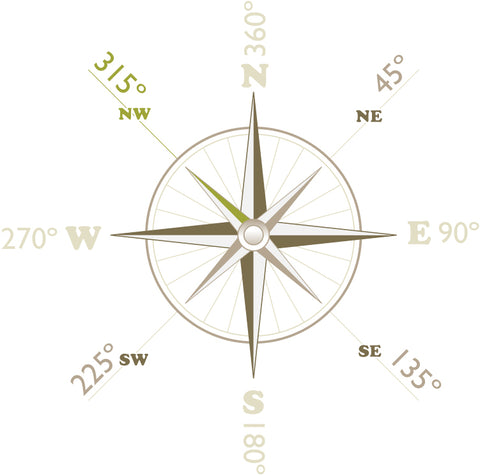 PNW Journey - 315 Degrees - Principal Compass
