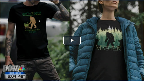 KHQ 6 PNW Journey Coronavirus Shirt Video
