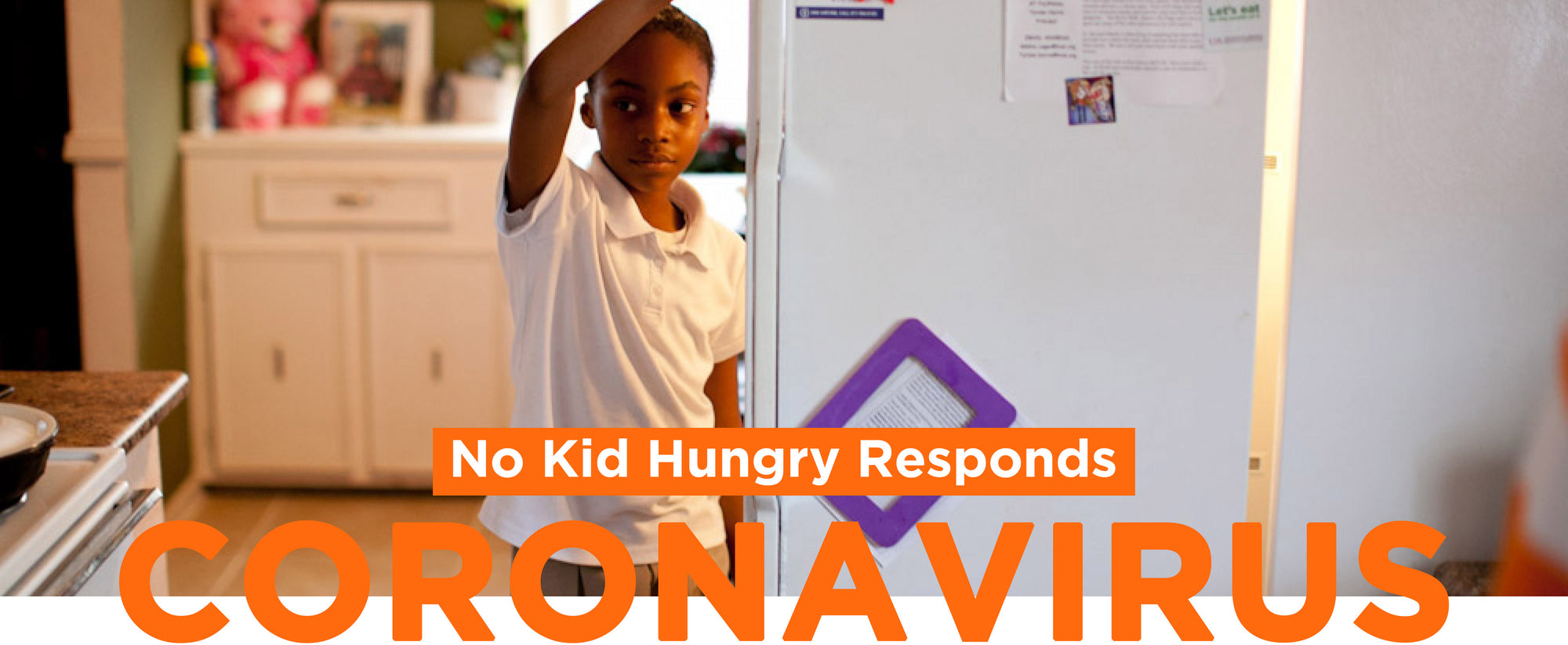 No Kid Hungry Responds Coronavirus