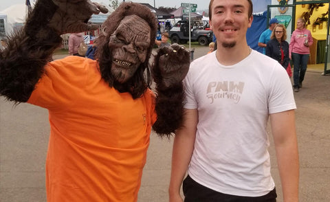 North Idaho Fair 2018 - Bigfoot Appearance