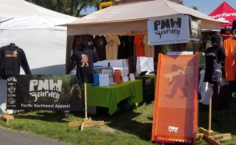 PNW Journey Spokane Fair Booth
