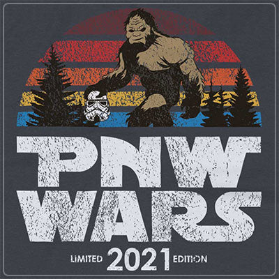 PNW Wars Vintage Design Apparel