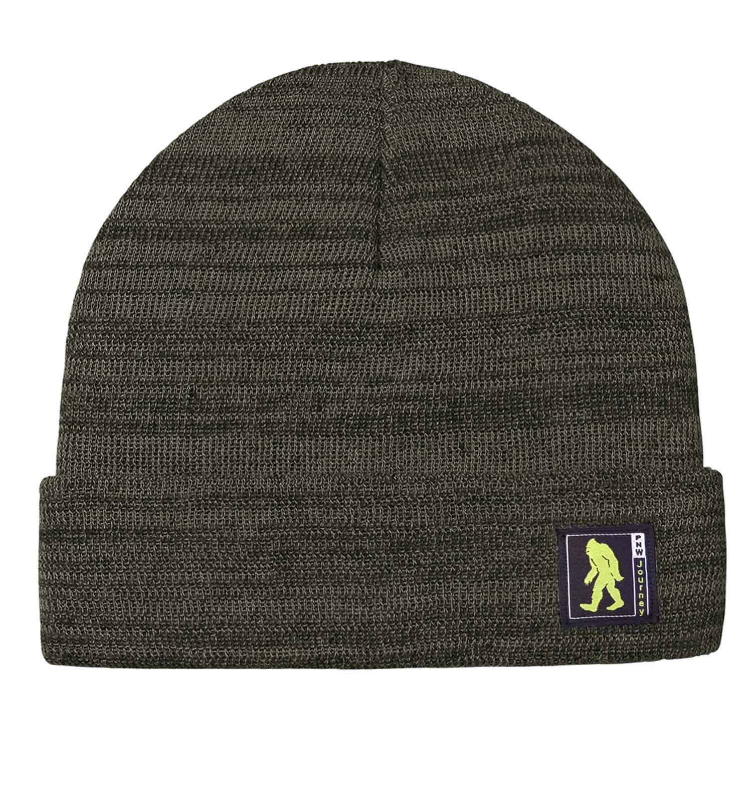 PNW Beanie - Bigfoot Classic Comfort - Heather Olive