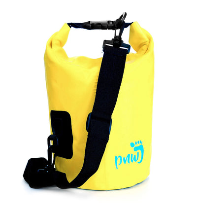 PNW Elements - 5L Bag - Dry Bag - Yellow - Back - PNW Journey