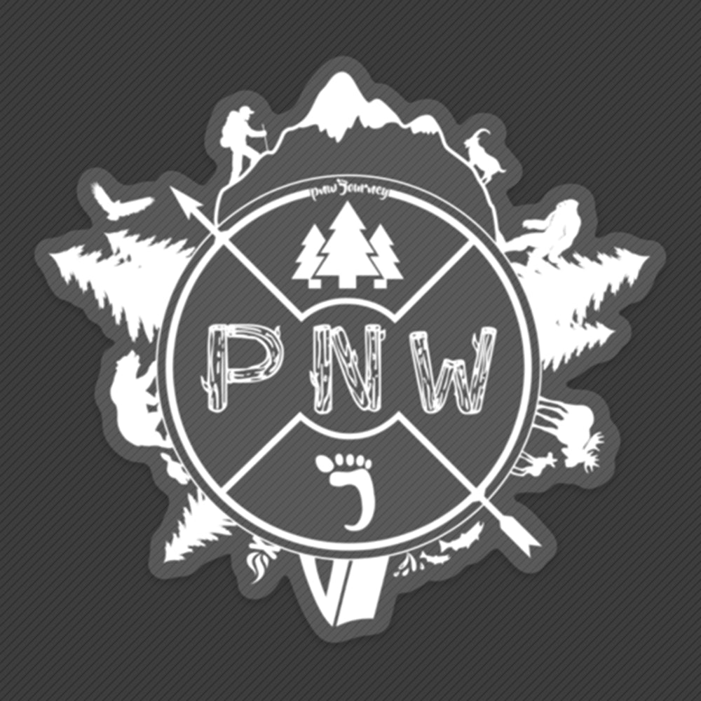 PNW Sticker - Around the PNW
