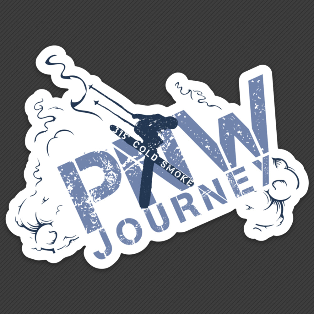 PNW Sticker - 315 Degrees Cold Smoke
