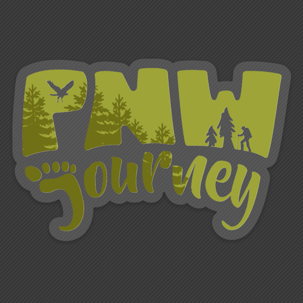 PNW Sticker - Forest Logo - Green
