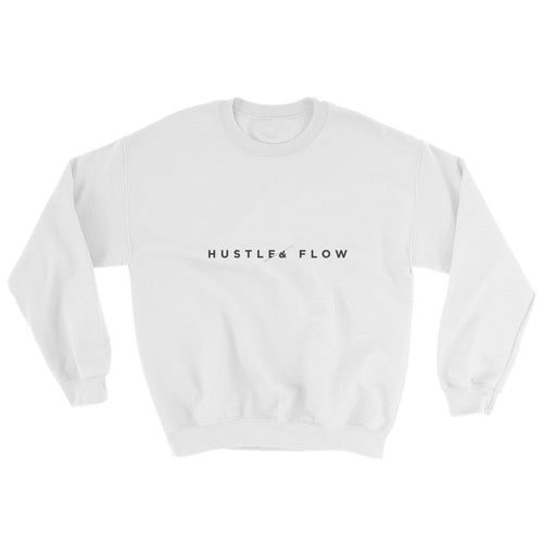 Hustle & Flow White Sweatshirt