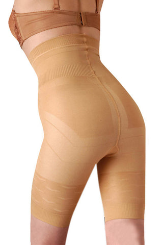 Aitana Waist Elastic Nude Long Body Shapers Butt Lifter Panty - waistshaper