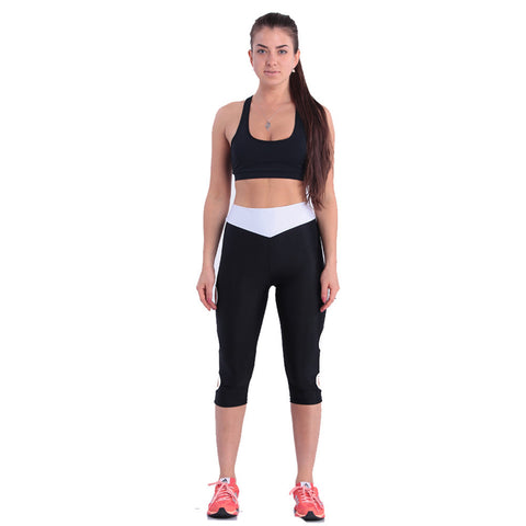 Women's Black Sports Leggings
