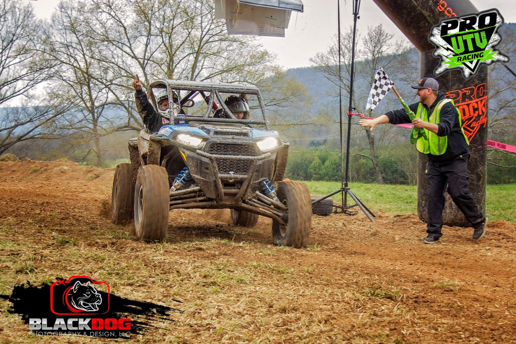 Polaris RZR Sweeps Podium at Pro Rock Survival Series