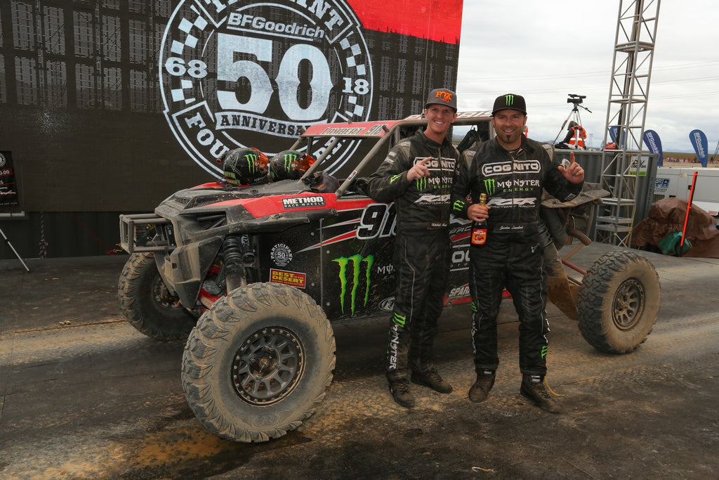POLARIS RZR® FACTORY RACING CONTINUES 2018 SUCCESS WITH VICTORIES IN ALL THREE UTV CLASSES AT THE 50TH ANNIVERSARY MINT 400