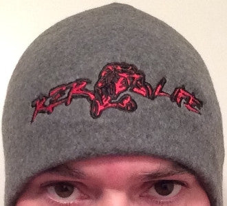 RZR LIFE Fleece Beanie - Red
