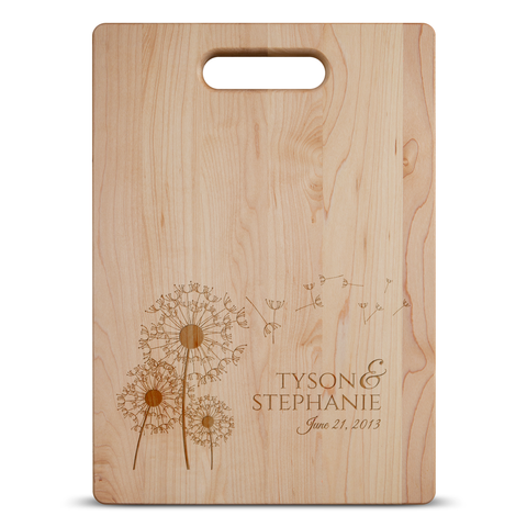 Dandelion Love Cutting Board