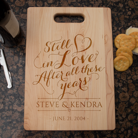 Image of Still In Love Cutting Board