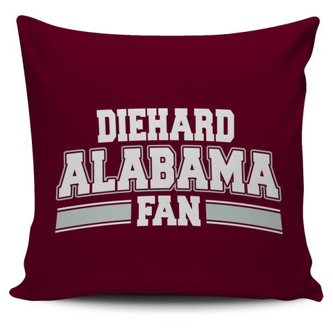 Alabama Diehard Fan Pillowcase