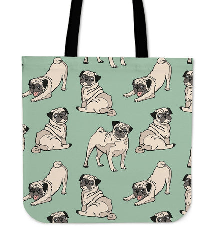 Pug Lovers Totebag - LOWEST PRICE