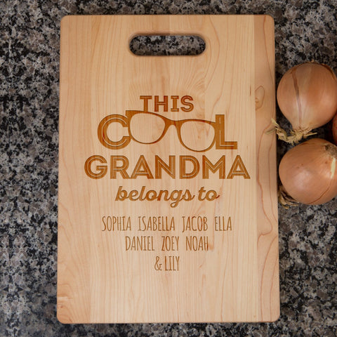 Image of This Cool Grandma Belongs To ... Cutting Board