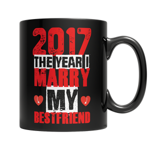Limited Edition - 2017 The Year I Marry My Bestfriend ( red design )