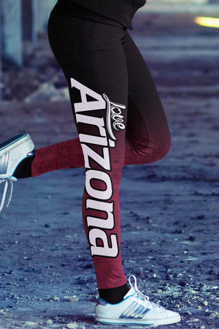 Image of Arizona Football Classic Leggings