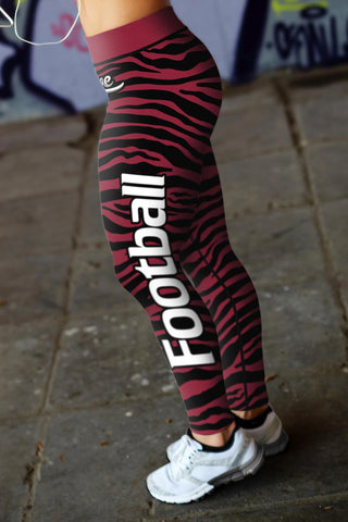 Image of Arizona Football Striped Leggings