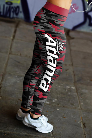 Image of Atlanta Football Camo Leggings