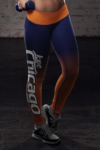 Image of Chicago Football Classic Leggings