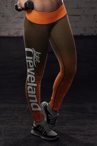 Cleveland Football Classic Leggings